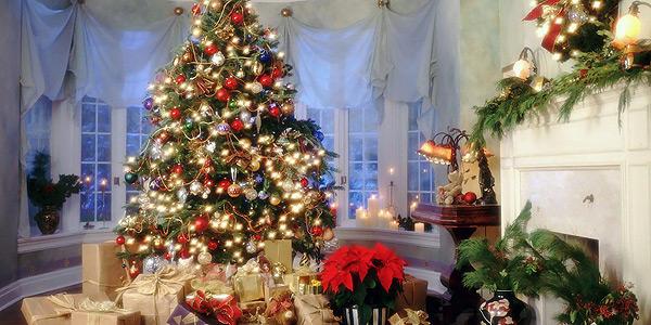 Картинки елка дома новый год